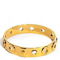 COACH F95393 Bridget Multi Eyelet Bangle