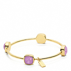 COACH F96059 - SQUARE STONE BRACELET ONE-COLOR