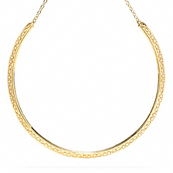 COACH F96212 Miranda Choker Necklace