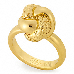 COACH F96241 Knot Ring