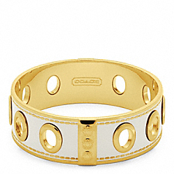 COACH F96353 Three Quarter Inch Grommet Bangle