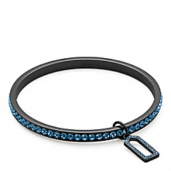 COACH F96416 Pave Bangle BLACK/NAVY