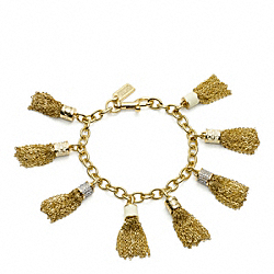 COACH MULTI TASSEL BRACELET - ONE COLOR - F96522