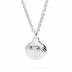 COACH F96697 Sterling Shell Necklace