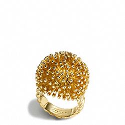 COACH F96730 - SPIKE RING ONE-COLOR