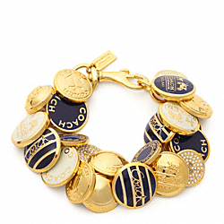 COACH F96742 Button Bracelet
