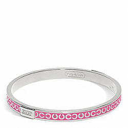 THIN OP ART BANGLE - f96856 - 16944
