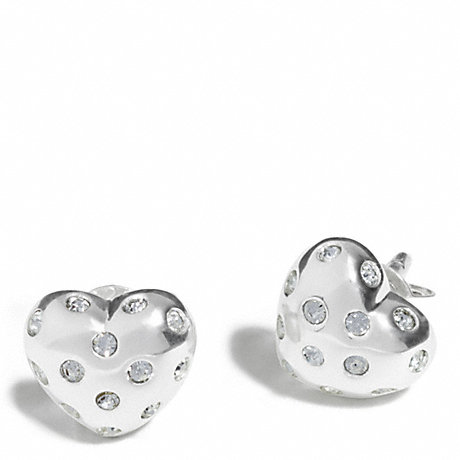 coach stud earrings 48 sterling pave stud earrings coach f96919 4302
