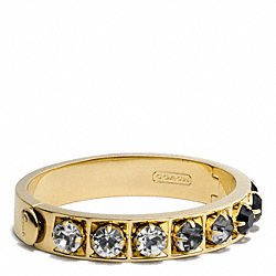 COACH F96982 Beveled Pave Bangle