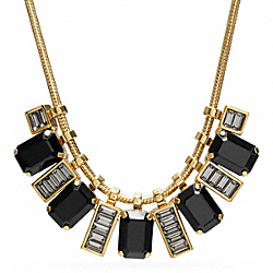 SHORT RHINESTONE NECKLACE - f96997 - F96997GDBK