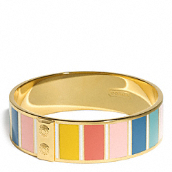 COACH F99741 - HADLEY STRIPE BANGLE ONE-COLOR