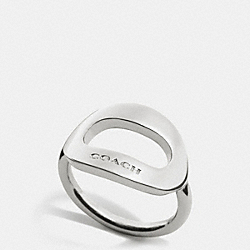 COACH F99883 Open Oval Ring SILVER