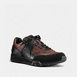 COACH FG1044 Soho Sneaker MAHOGANY/BLACK