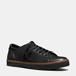 COACH YORK LACE SNEAKER - BLACK - FG1134