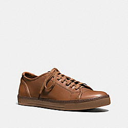 COACH YORK LACE SNEAKER - SADDLE - FG1134