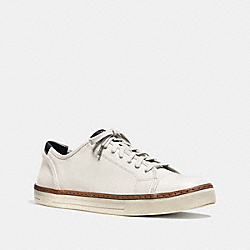 COACH FG1134 York Lace Sneaker WHITE