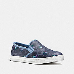 COACH FG1261 Parkside Slip On CORNFLOWER/DENIM