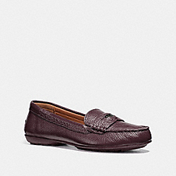 COACH FG1268 - COACH PENNY LOAFER WINE