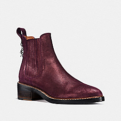 COACH FG1286 Bowery Chelsea Boot BORDEAUX