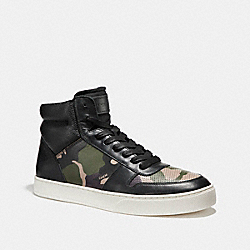 COACH FG1311 Dewitt High Top DARK GREEN CAMO