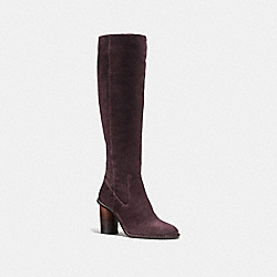COACH FG1357 Ombre Heel Boot OXBLOOD