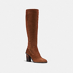 COACH FG1357 Ombre Heel Boot SADDLE