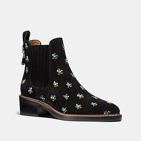 COACH FG1365 BOWERY CHELSEA BOOT BLACK