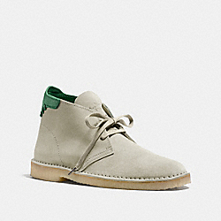 COACH KINGSTON CHUKKA BOOT - PANNA - FG1388