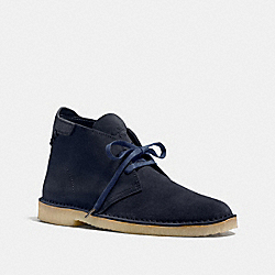 COACH FG1388 Kingston Chukka Boot NAVY/NAVY