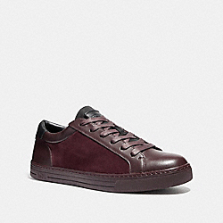 LOGAN LOW TOP SNEAKER - fg1473 - OXBLOOD
