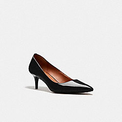 COACH FG1479 Mid Heel Pump BLACK