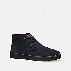 COACH FG1504 - SUEDE BOOT MIDNIGHT