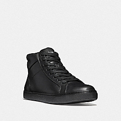 COACH FG1505 C204 High Top Sneaker BLACK