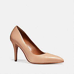 COACH FG1538 Pointed Toe Pump BEECHWOOD