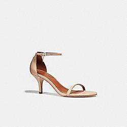 COACH FG1540 Heel Sandal BEECHWOOD