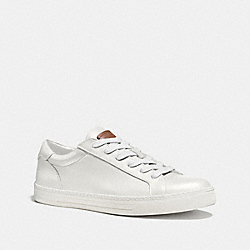 COACH LOGAN LOW TOP SNEAKER - WHITE - FG1618