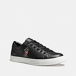 COACH FG1733 Logan Mickey Sneaker BLACK