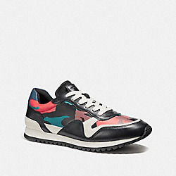 COACH FG1747 Carter Runner In Camo BLACK/RED CAMO