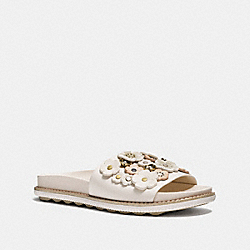 COACH FG1791 Sport Slide With Tea Rose CHALK
