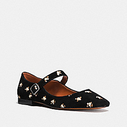 MARY JANE WITH PRAIRIE PRINT - FG1825 - BLACK