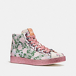COACH FG1850 C204 With Camo Rose Print GREY