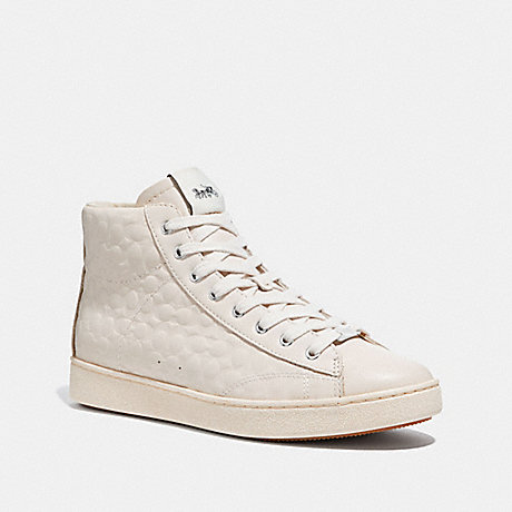 COACH FG1851 C204 HIGH TOP SNEAKER CHALK