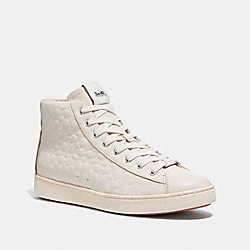COACH FG1851 - C204 HIGH TOP SNEAKER CHALK