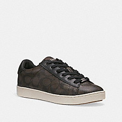 COACH FG1888 C126 Low Top Sneaker BROWN MAHOGANY