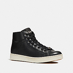 COACH FG1911 C204 High Top Sneaker BLACK