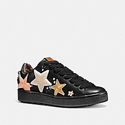 COACH FG1912 C101 With Star Patches BLACK