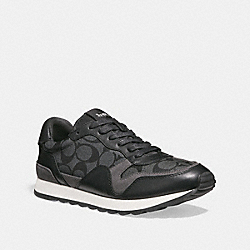 COACH FG1945 C142 Runner BLACK/BLACK