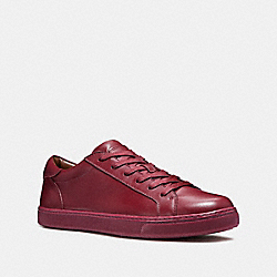 COACH FG1947 C126 Low Top Sneaker CRIMSON