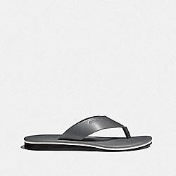 COACH FG2049 Rockaway Flip Flop SLATE