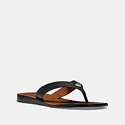 COACH FG2097 Ellis Sandal BLACK